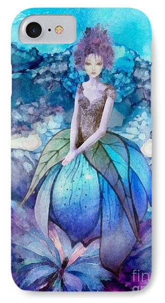 IPhone Case featuring the painting Larmina by Mo T