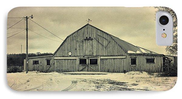 Larsen Road Barn IPhone Case by Joel Witmeyer