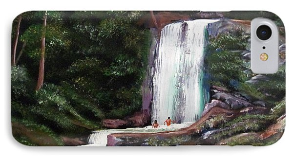 Las Marias Puerto Rico Waterfall Phone Case by Luis F Rodriguez