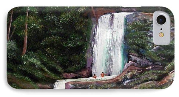 Las Marias Puerto Rico Waterfall IPhone Case by Luis F Rodriguez