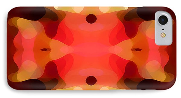 Las Tunas Abstract Pattern Phone Case by Amy Vangsgard