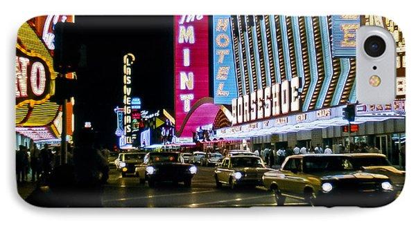 Las Vegas 1964  II IPhone Case by Albert Seger