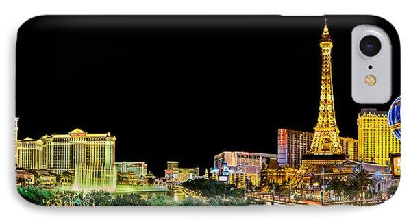 Las Vegas At Night IPhone 7 Case by Az Jackson