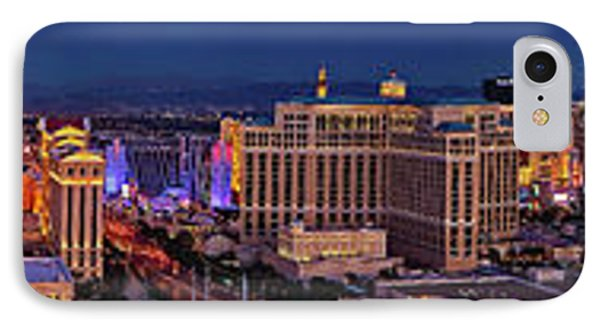 IPhone Case featuring the photograph Las Vegas Panoramic Aerial View by Susan Candelario
