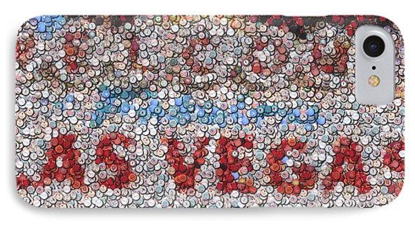 Las Vegas Sign Poker Chip Mosaic Phone Case by Paul Van Scott