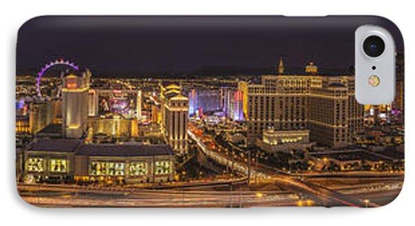 Las Vegas Strip IPhone Case by Roman Kurywczak