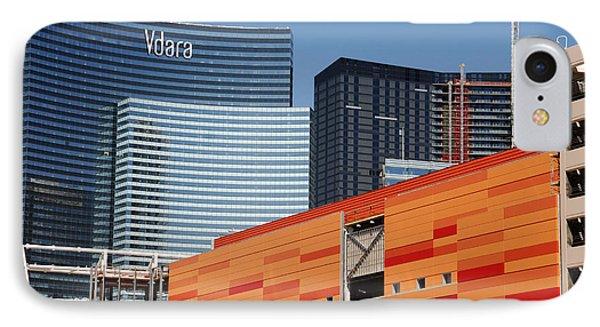 Las Vegas Under Construction Phone Case by Susanne Van Hulst