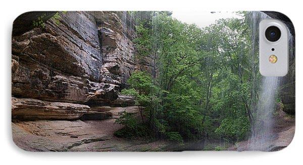 Lasalle Canyon Starved Rock State Park IPhone Case by Steve Gadomski