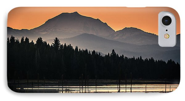 Lassen In Autumn Glory IPhone Case by Jan Davies