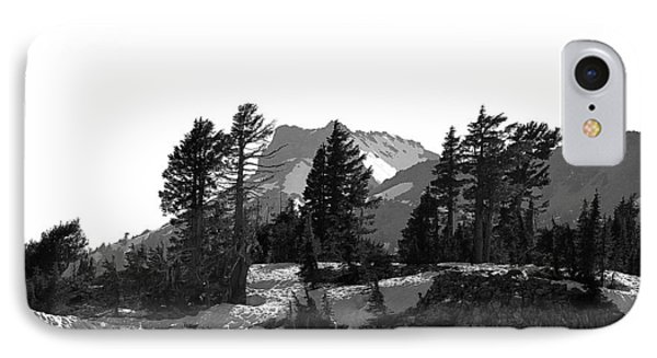 IPhone Case featuring the photograph Lassen National Park by Lori Seaman