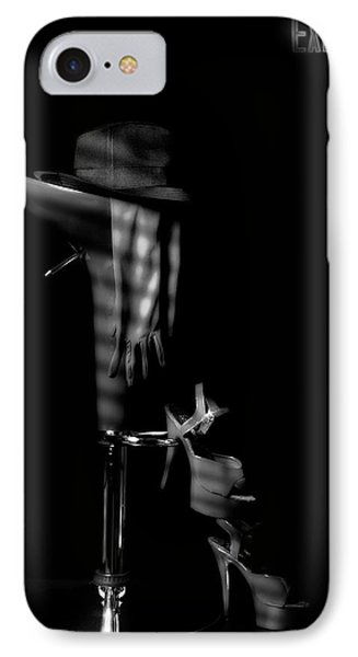 Last Call In Black And White IPhone Case by Tom Mc Nemar