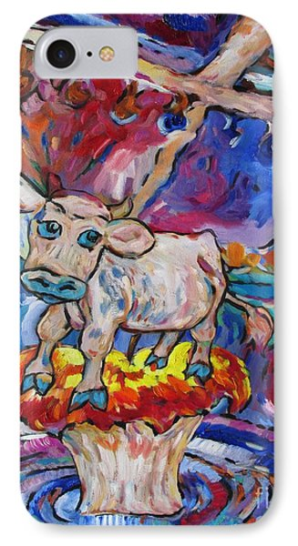 Last Cow Standing IPhone Case by Dianne  Connolly
