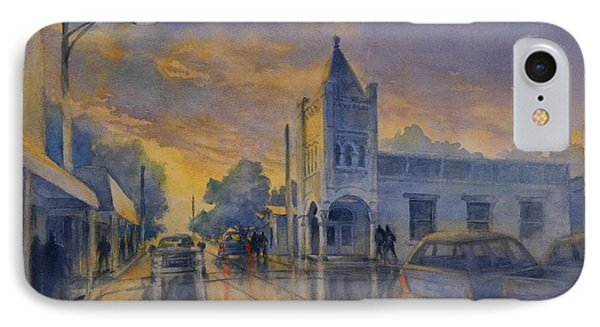 Last Light, High Street At Seventh IPhone Case
