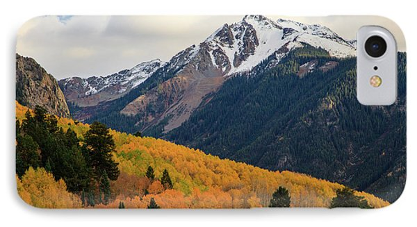 IPhone 7 Case featuring the photograph Last Light Of Autumn by David Chandler