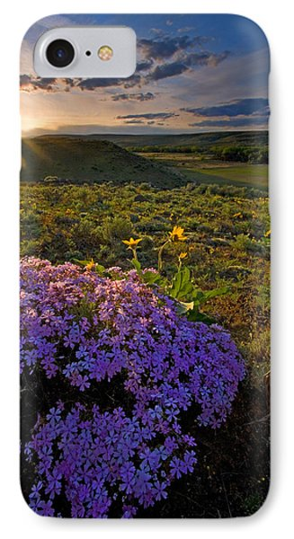 Last Light Of Spring Phone Case by Mike  Dawson
