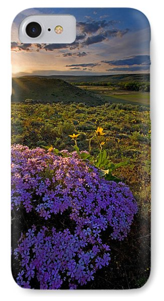Last Light Of Spring IPhone Case