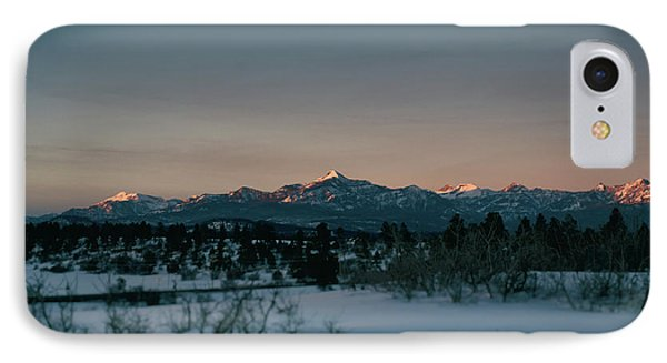 Last Light On Pagosa Peak IPhone Case by Jason Coward