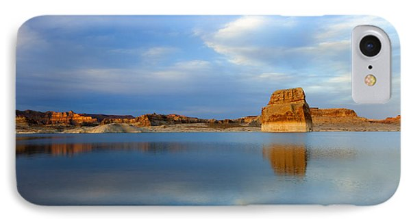 Last Light Over Lake Powell IPhone Case by Mike Dawson