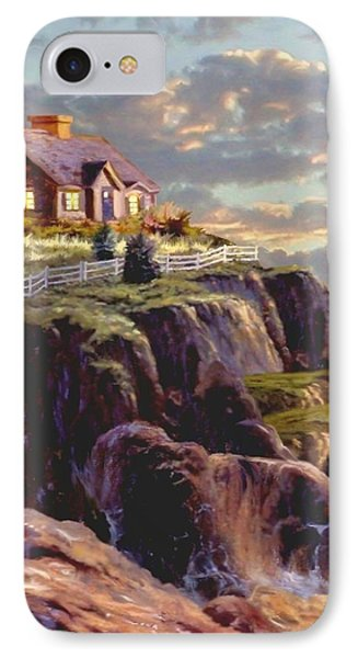 Last Light Segment 1 IPhone Case by Ron Chambers