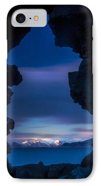 Last Light Through Lava IPhone Case