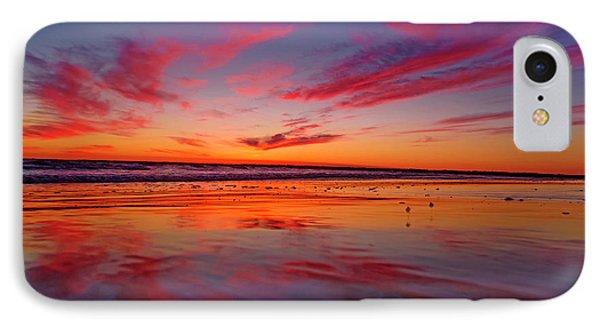 Last Light Topsail Beach IPhone Case by Betsy Knapp