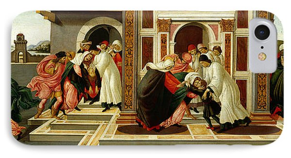 Last Miracle And The Death Of St. Zenobius IPhone Case by Sandro Botticelli