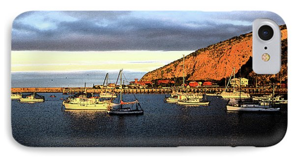 IPhone Case featuring the photograph Last Rays At The Bay by Nareeta Martin