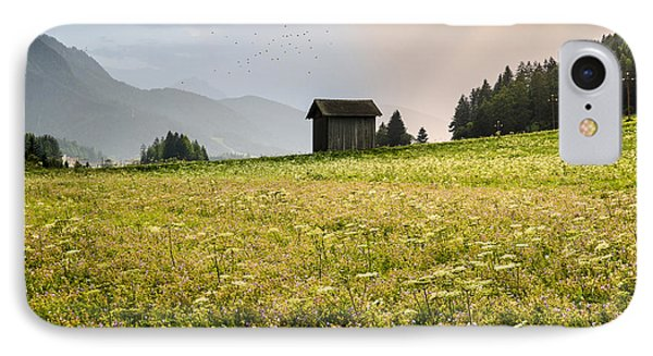 IPhone Case featuring the photograph Last Rays On The Valley by Yuri Santin