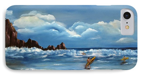 IPhone Case featuring the painting Last Ride by Carol Sweetwood