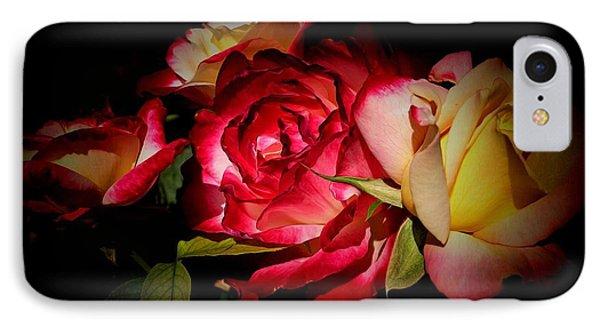 Last Summer Roses IPhone Case by Gabriella Weninger - David