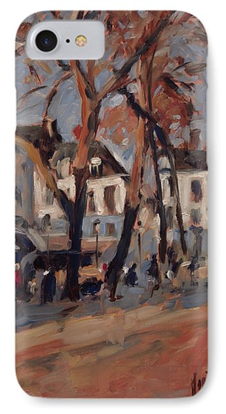 Last Sunbeams Our Lady Square Maastricht IPhone Case by Nop Briex