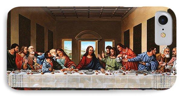 Last Supper Phone Case by Michael Nowak