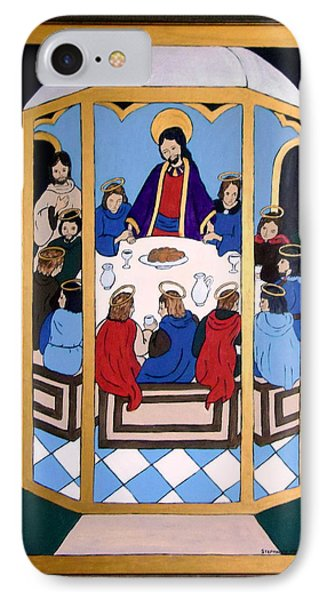 IPhone Case featuring the painting Last Supper by Stephanie Moore