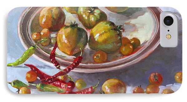 Tomato iPhone 7 Case - Last Tomatoes From My Garden by Ylli Haruni