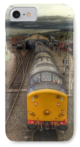 IPhone Case featuring the photograph Last Train To Manuel by RKAB Works
