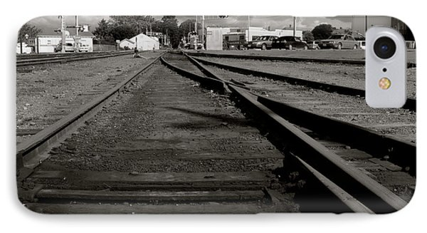 Last Train Track Out IPhone Case