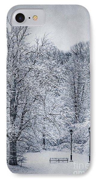 Last Winter's Dream IPhone Case by Evelina Kremsdorf