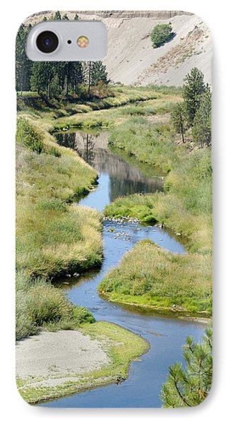 IPhone Case featuring the photograph Latah Creek by Ben Upham III