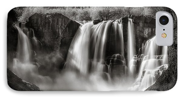 IPhone Case featuring the photograph Late Afternoon At The High Falls by Rikk Flohr
