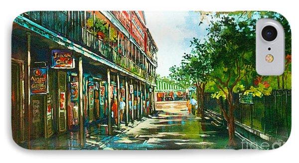 Late Afternoon On The Square Phone Case by Dianne Parks