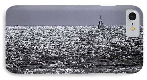 Late Afternoon Sailing IPhone Case by Randy Bayne