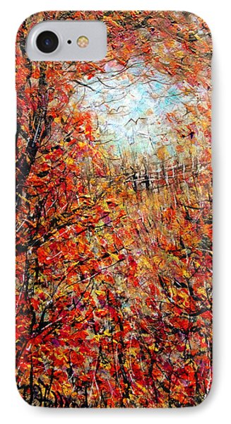 Late Autumn Phone Case by Natalie Holland