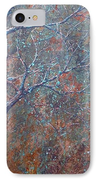 Late Autumn IPhone Case by T Fry-Green