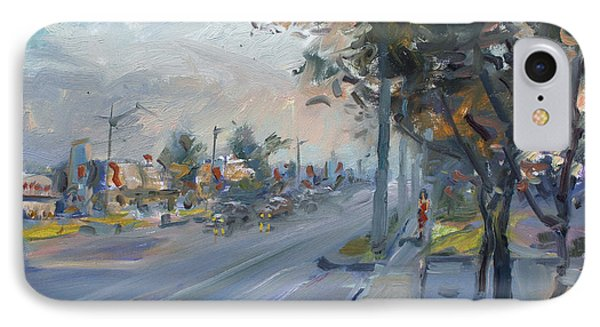 Late Evening In Guelph Street Georgetown IPhone Case by Ylli Haruni