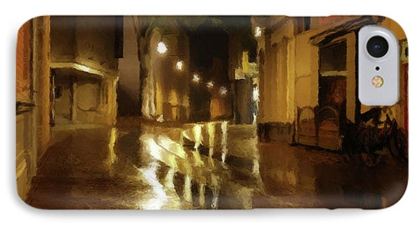 IPhone Case featuring the photograph Late Evening Rain  by David Dehner