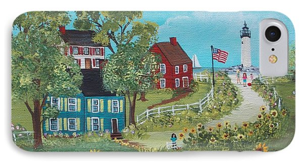 Late July IPhone Case by Virginia Coyle