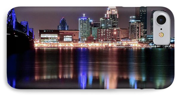 Late Late Night In Louisville IPhone Case by Frozen in Time Fine Art Photography