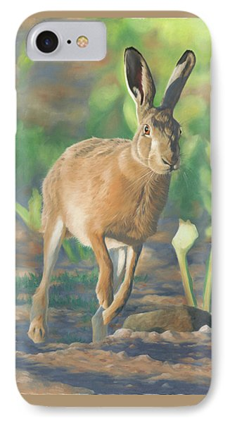 Late Light-hare Phone Case by Clive Meredith
