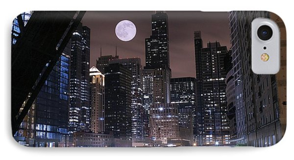 Late Night In Chicago IPhone Case