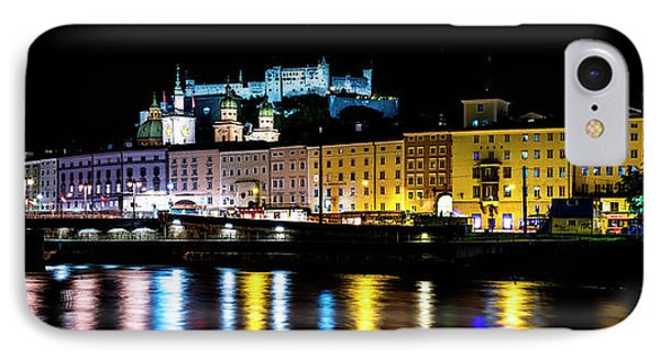 IPhone Case featuring the photograph Late Night Stroll In Salzburg by David Morefield